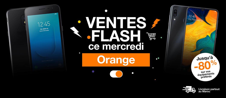 Ventes Flash d'Orange