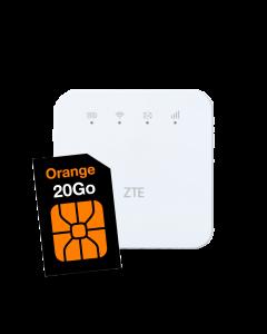 Wifi D'jib + Carte SIM 20Go d'internet