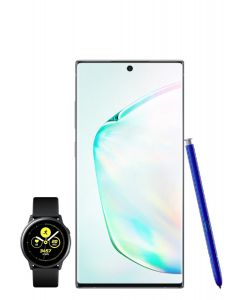 Pack Samsung Galaxy Note 10 Plus Argent Stellaire