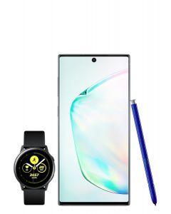 Pack Samsung Galaxy Note 10 Argent stellaire
