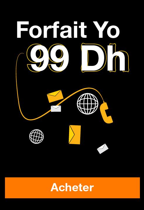forfait yo 49dh