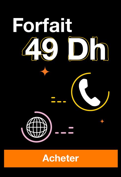 Forfait 49dh