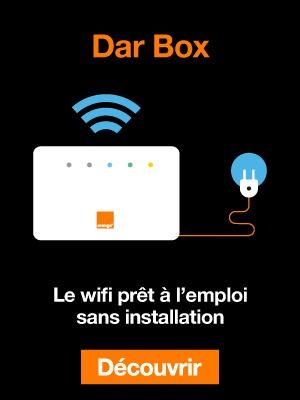 Dar Box - le wifi prêt à l'emploi sans installation