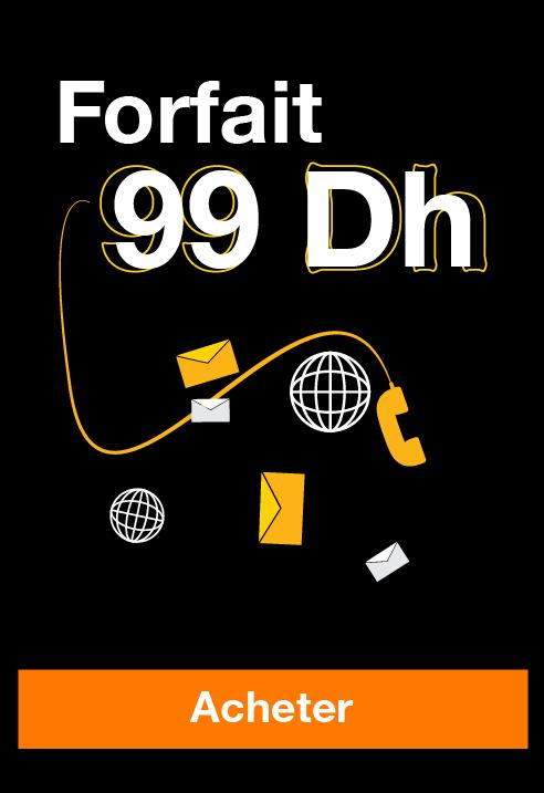 Forfait 99dh